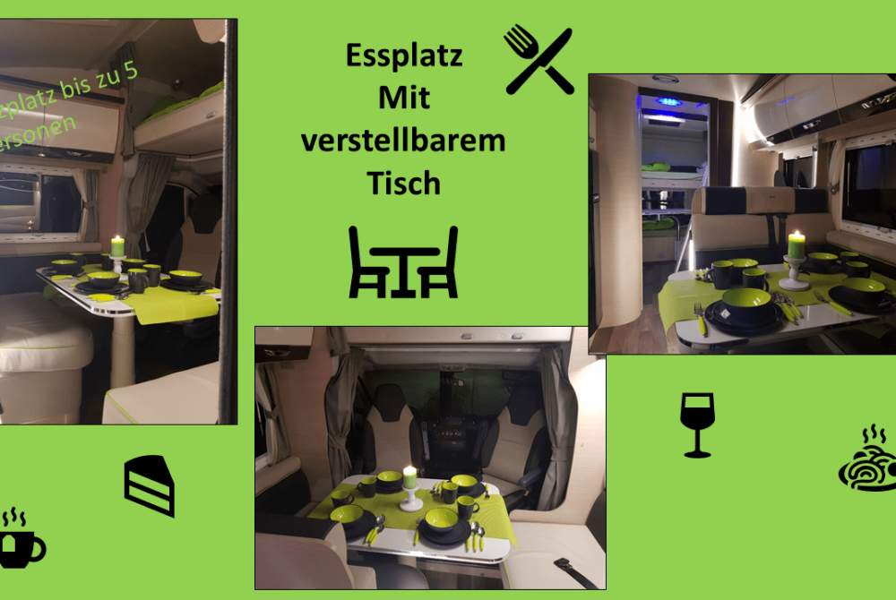 wohnmobil ducato 3 0 automatik 177 ps vollausstattung. Black Bedroom Furniture Sets. Home Design Ideas