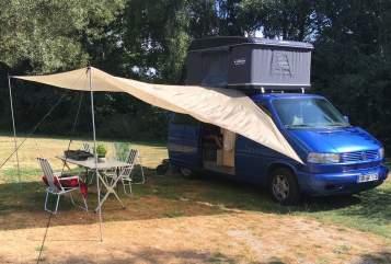 Wohnmobil mieten in Dresden von privat   Volkswagen Blaubär