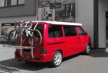 Wohnmobil mieten in Anröchte von privat   VW red-bus