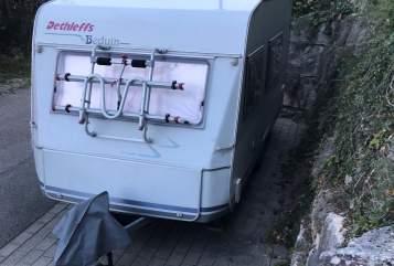 Wohnmobil mieten in Löwenstein von privat   Dethleffs Chalet