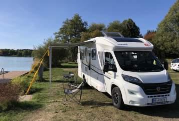 Wohnmobil mieten in Hanau von privat   Eura Mobil Tony