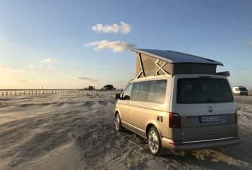 Wohnmobil mieten in Hamburg von privat | VW Salted Caramel