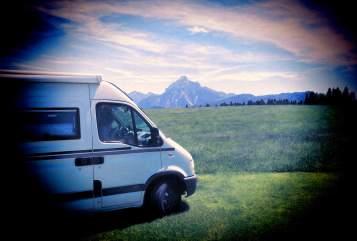 Wohnmobil mieten in Schriesheim von privat | Opel Das Raumwunder