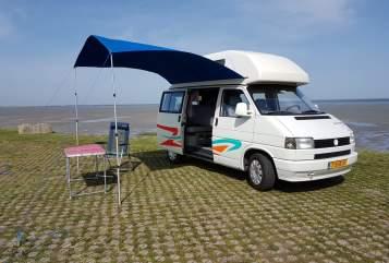 Wohnmobil mieten in Krabbendijke von privat   Volkswagen T4 Westfalia  VanHoutekamer