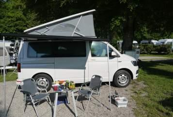 Wohnmobil mieten in München von privat | VW CamperKalle