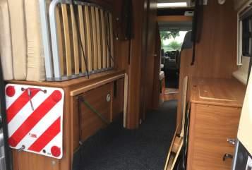 Wohnmobil mieten in Sambeek von privat   Pössl Buscamper