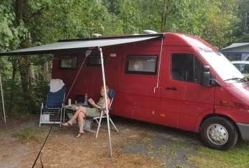 Wohnmobil mieten in Ridderkerk von privat | Mercedes De Rooie