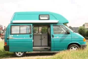 Wohnmobil mieten in Montfoort von privat   Volkswagen T4 Groene camper