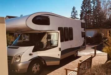 Wohnmobil mieten in Baunatal von privat | Ford Transit Hobby Hobby Camper
