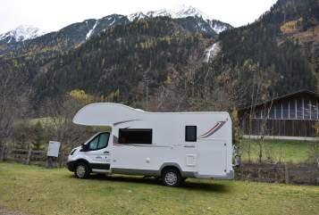 Wohnmobil mieten in Passau von privat | Roller Team Kronos 295 Silvies Camper