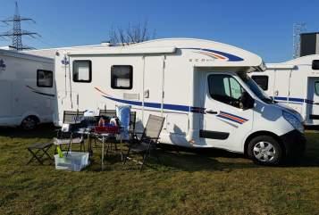 Wohnmobil mieten in Hünxe von privat   Ahorn Camp AllinCamper 690