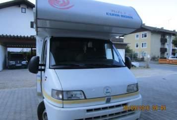 Wohnmobil mieten in Wettenberg von privat   Fiat Wobi 2