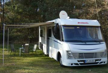 Wohnmobil mieten in Schloß Holte-Stukenbrock von privat | Dethleffs Digger