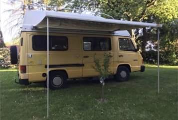 Wohnmobil mieten in Dießen am Ammersee von privat | Mercedes Benz Töffi