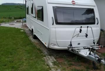 Wohnmobil mieten in Bad Wildungen von privat   Bürstner Ederperle