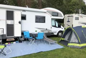 Wohnmobil mieten in Korschenbroich von privat | Ford Transit Bürstner Reimondo