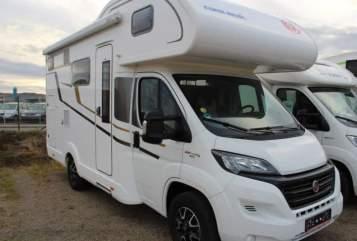 Wohnmobil mieten in Kelsterbach von privat | Eura Mobil Gary