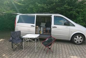 Wohnmobil mieten in Dresden von privat | Mercedes Benz Digger