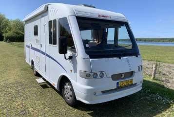 Wohnmobil mieten in Kloetinge von privat | Fiat Integraal Dethleffs Camper Dethleffs 630