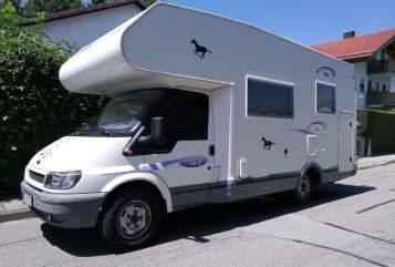 Wohnmobil mieten in Kolbermoor von privat | Ford Transit Oskar