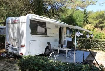 Wohnmobil mieten in Reinbek von privat | Dethleffs Unser Dicker
