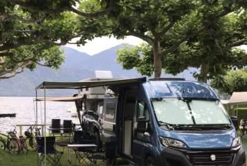 Wohnmobil mieten in Darmstadt von privat | Westfalia Chris Columbus