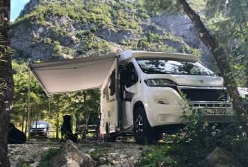 Wohnmobil mieten in Teningen von privat | Knaus Schuh desManitu