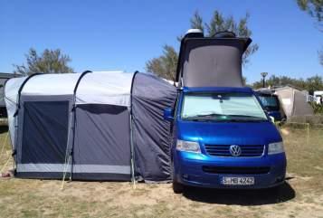 Wohnmobil mieten in Stuttgart von privat | VW Blue-Clue