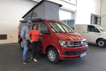 Wohnmobil mieten in Augustdorf von privat | VW T6 California Löwen neu