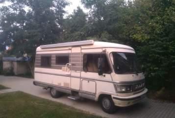 Wohnmobil mieten in Schulzendorf von privat   Hymer  Hymer 91