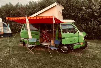 Wohnmobil mieten in Düsseldorf von privat | Volkswagen Kermit