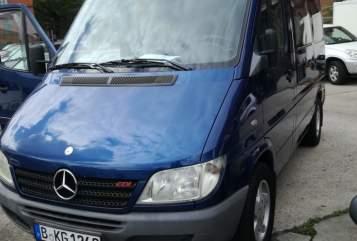 Wohnmobil mieten in Berlin von privat | Mercedes Blauer Sprinter
