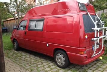 Wohnmobil mieten in Überlingen von privat | VW Roter Elefant