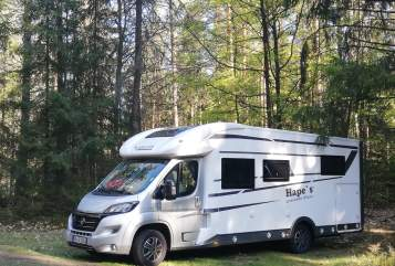 Wohnmobil mieten in Sinzheim von privat | Mobilvetta Hape`s Mobil