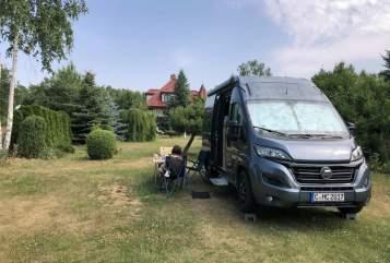 Wohnmobil mieten in Chemnitz von privat   Hymer Ayers Rock