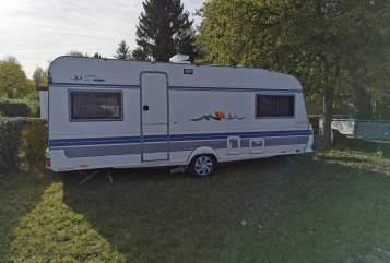 Wohnmobil mieten in Eschweiler von privat | Hobby 555UL Ernas Tours