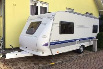 Wohnmobil mieten in Speyer von privat | Hobby Domspatz