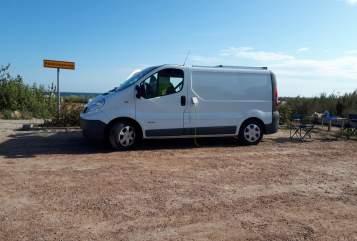 Wohnmobil mieten in Eningen unter Achalm von privat   Renault Der weiße Hai