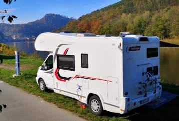 Wohnmobil mieten in Jesewitz von privat   Challenger Buddy