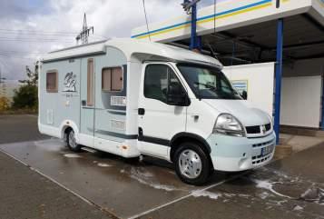 Wohnmobil mieten in Kalbach von privat | Knaus Topas