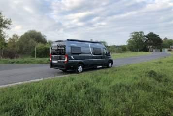 Wohnmobil mieten in Buseck von privat   Pössl Roadcruiser
