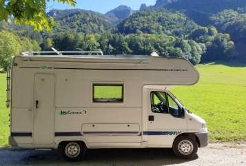 Wohnmobil mieten in Aschau im Chiemgau von privat   FIAT DUCATO GLÜCKSMOBIL