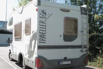 Wohnmobil mieten in Unterhaching von privat | Knaus Emma