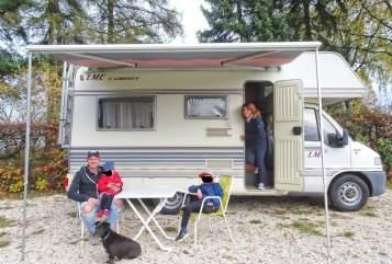 Wohnmobil mieten in Herbrechtingen von privat   Fiat Ducato Bruce