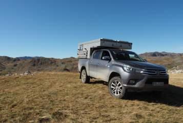 Wohnmobil mieten in Reichelsheim von privat | Toyota Hilüxchen