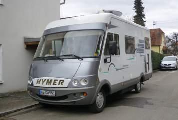 Wohnmobil mieten in Nehren von privat | Hymer  Hymer B 524