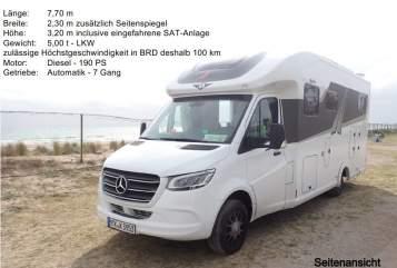 Wohnmobil mieten in Liederbach am Taunus von privat   Frankia  Letizia