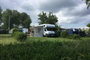 Wohnmobil mieten in Borstel-Hohenraden von privat | Bürstner  Curt