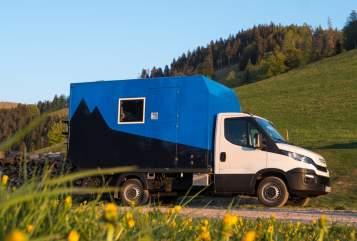Wohnmobil mieten in Freiburg im Breisgau von privat | Iveco Freisel
