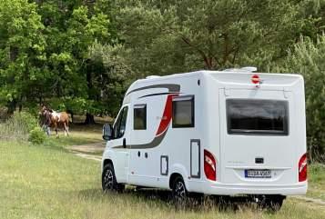 Wohnmobil mieten in Berlin von privat | Bürstner Marti